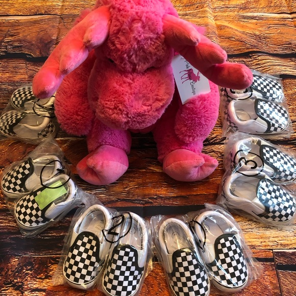 Baby Toddler Checkerboard slip-on prewalker shoes